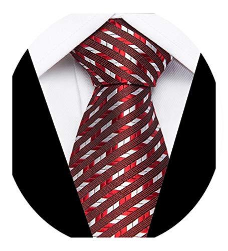 Necktie Gifts Men Ties Designers Fashion Jacquard Striped Neck Tie Green Wedding Business Slim 7.5 Cm Cravate Hommer,L95