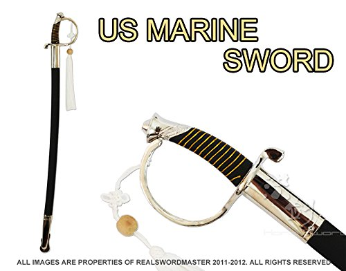 U.S. Marine Corps NCO Ceremonial Dress Sword (Silver)