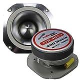 1 Pair Audiopipe Super Tweeter (2) ATR-4053 400w Car Stereo Bullet 4'