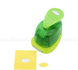 Bira 5/8 inch Lips Shape Lever Action Craft Punch for Paper Crafting Scrapbooking