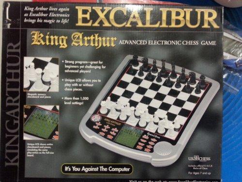 Excalibur 915-3 King Arthur Electronic Chess
