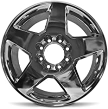 Road Ready Car Wheel For 2011-2015 GMC Sierra 2500 3500 GMC Sierra Denali 2500 3500 Chevy Silverado 2500 3500 20 Inch 8 Lug Polish Aluminum Rim Fits R20 Tire - Exact OEM Replacement - Full-Size Spare