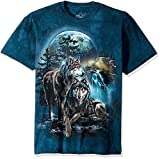 The Mountain Wolf Lookout Adult T-Shirt, Grün, XL