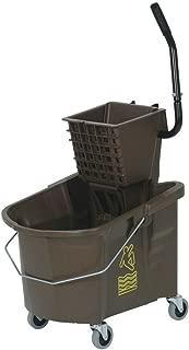 Mop Bucket With Wringer Combo 26qt Bronze
