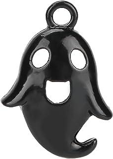 Eulbevoli Pendentif fantôme Bricolage, Alliage Unique Mignon résistant à l'usure 20 pièces Pendentif Halloween pour Les Am...