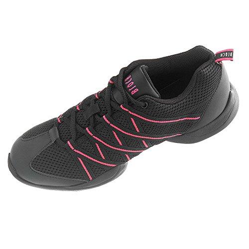 Bloch 524 Criss Cross Dance Sneaker, Pink - rose - Größe: 43.5 EU
