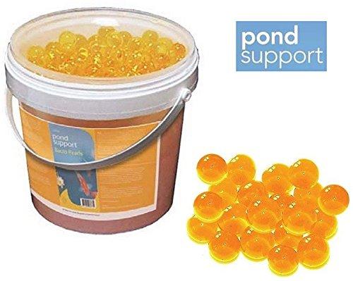 Pond Support Bacto Pearls Starter Bactéries filtrantes 1 & 2,5 l, contenu : 2,5 l.