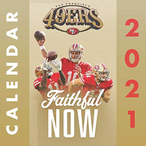 San Francisco 49ers: OFFICIAL Calendar 2021-2022
