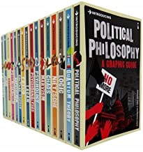 A Graphic Guide Introducing 16 Books Collection Set (Introducing Logic, Chaos, Lacan, Postmodernism, Quantum Theory, Nietzsche, Critical Theory, Political Philosophy, Freud, Psycholo