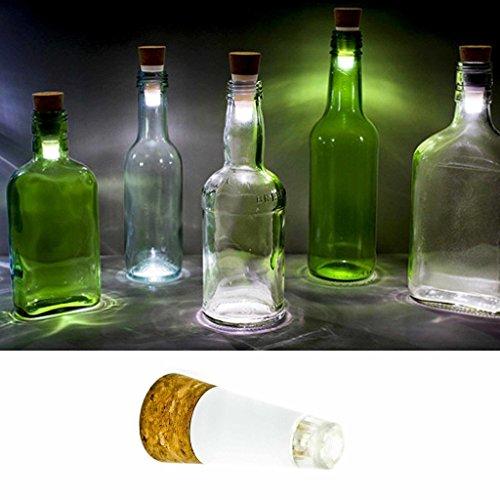 LED Kork Stoppel Tischlampe Flaschenbeleuchtung Gartenlampe Cork USB Akku USB Bottle Light