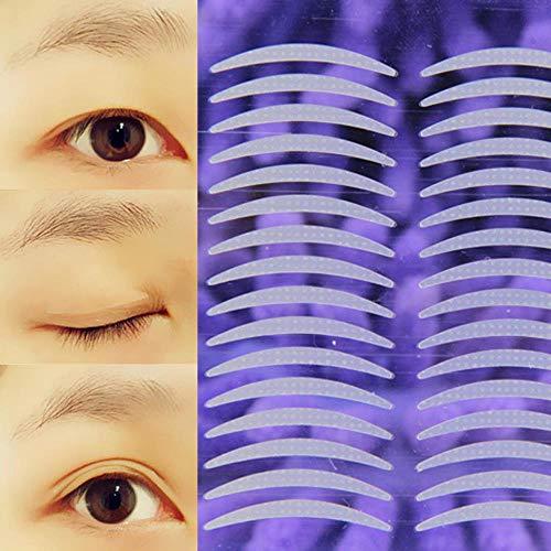 LLine Double Paupière Autocollant Maquillage Accessoire 480 Pcs Double Paupière Ruban Invisible Naturel Clair Paupière Bande Yeux Outils de Maquillage