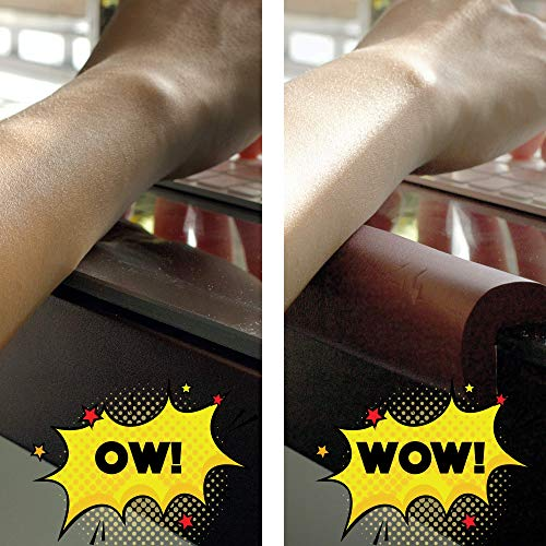 Ergo Edge   Protect Your arms from Sharp Table Edges!   30' High Density Foam [Black]