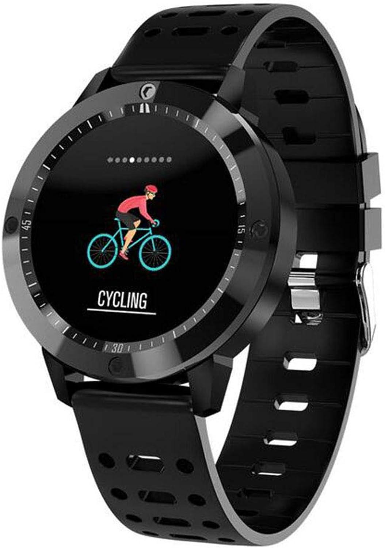 CHENG Sportuhr mit Schrittzhler Smart Bracelet Wrist Pedometer Watch mit Trainingsmodi