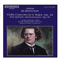 Rubinstein: Violin Concerto, Op. 46; Don Quixote (Humoresque), Op. 87