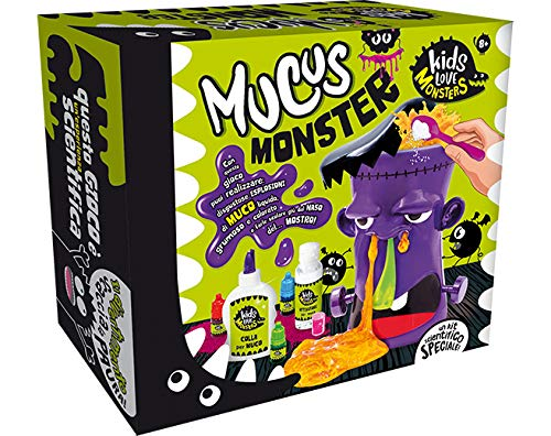 Lisciani Giochi- Kids Love Monsters Mucus Monster Gioco, Multicolore, 82766