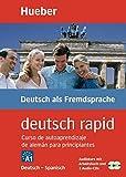 DEUTSCH RAPID Curso autoaprendizaje A1: Buch + 2 CDs Deutsch / Spanisch edition (Autodidacta Aleman)