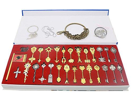 Xcoser Cosplay Accessoires Porte-clés 29pcs Pendentif Pour Collection Décoration