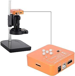 34MP HDMI Mikroskop Kamera Orange USB High Definition Industrie Digital C-Mount Monokular Mikroskop Kamera Set f¨¹r Telefo...