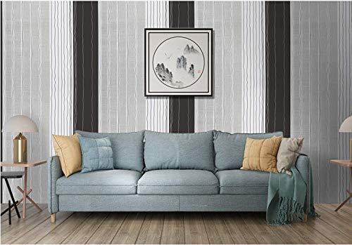 Pvc Impermeable Auto-stick A Rayas Papel Pintado Europeo Dormitorio Fondo Pared Casa Pasta 0.45×10m O