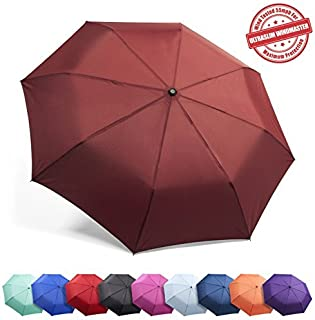 Frostfire Family, Traveler, Business Gifts, Parent, Students Umbrella, A5 Burgundy