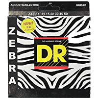 DR ZEBRA ZAE-11 MEDIUM-LITE アコースティックギター弦×6セット