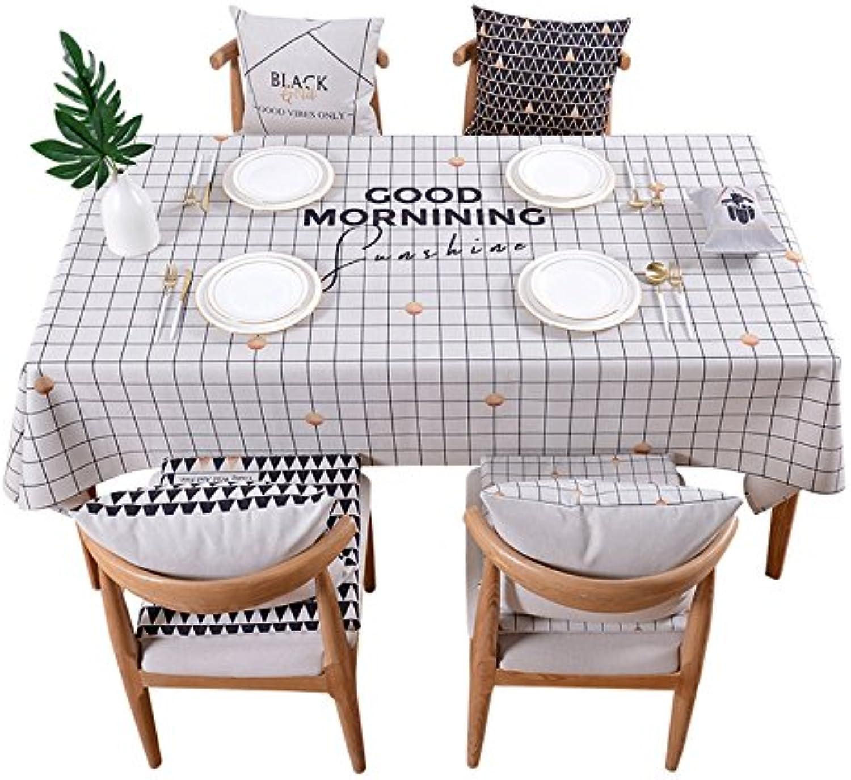 El ultimo 2018 ZWL Mantel Mantel Mantel enrejado, mesa de comedor pequea mesa rojoonda Mantel rectangular mantel en mesa de restaurante mantel de algodón y mantel de lino longitud 85-230cm , Agrega vitalidad a la cocina ( Tamao   140140cm )  ganancia cero