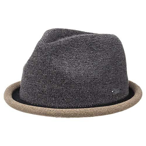 Boston Hat - moderner Trilby Hut in 4 Farben mit farbig abgesetzer Krempe - Top Qualität