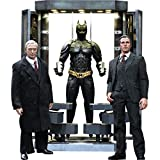 Hot Toys Batman The Dark Knight Movie Masterpiece Batman Armory With Bruce Wayne & Alfred Pennyworth 1:6 Collectible Figure Set