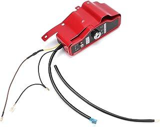 Interruptor De Encendido Eléctrico, Interruptor De Encendido Eléctrico Y Panel De 2 Llaves Para Motor Honda Gx340 Gx390 11hp 13hp