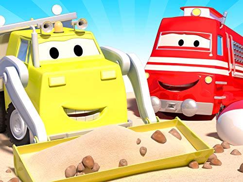 Schulanfang / Troy der Zug /Carrie das Süßigkeitenauto holt / Amber dem Krankenwagen