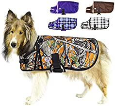 """Derby Originals Woodland Sporting Series 1200D Waterproof Ripstop Nylon Winter Dog Coat with Two Year Limited Manufacturer's Warranty 22"""" 80-8045-ORW-L"""