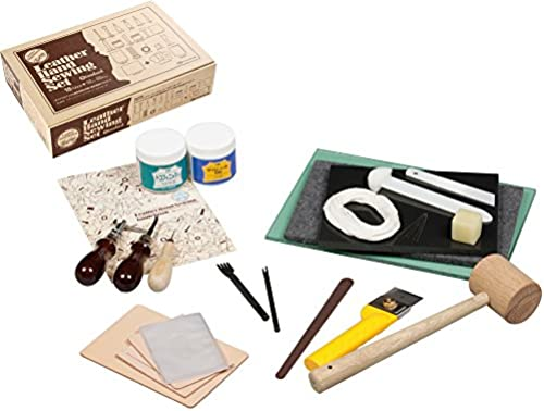 Kraft leather hand sewing kit Standard 18958 (japan import)