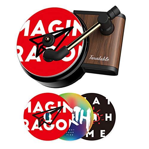 Auto-Lufterfrischer, Retro-Schallplattenspieler, Air-Fresh, Clip-Plattenspieler, Auto-Dekoration für Autozubehör