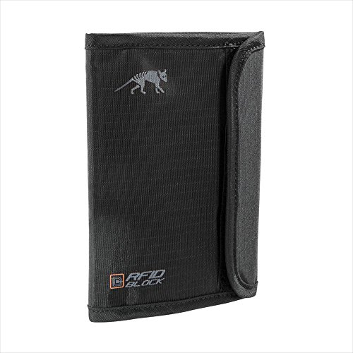 Tasmanian Tiger TT Passport Safe RFID B Porte-Documents Noir 15 x 11 x 1 cm