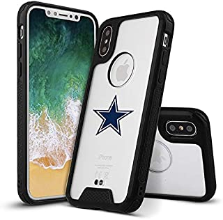 iPhone Xs Max Clear Case Premium Ultra Hybrid Full-Body Rugged Protective Bumper Cover Transparent Back Shell Designed for Compatible with iPhone Xs Max 6.5-inch