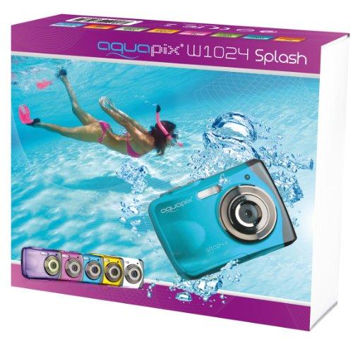 Easypix DF000165 W1024-I Aquapix Splash Digital Camera - Ice Blue