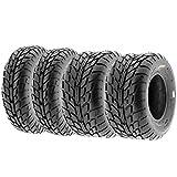Set of 4 SunF A021 TT Sport ATV UTV Flat Track Tires 19x7-8 Front & 225/45-10...
