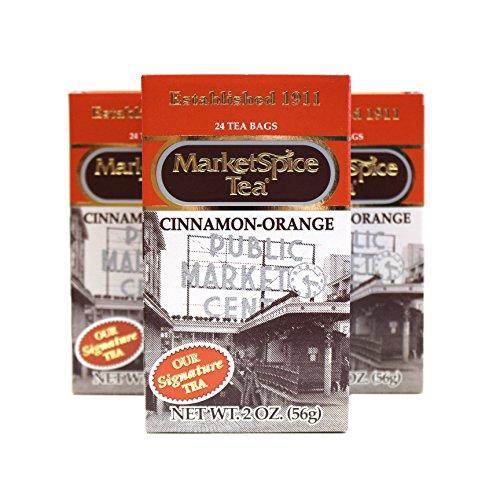 Market Spice Cinnamon-Orange Tea Bag, 24-Count (Pack of 3)