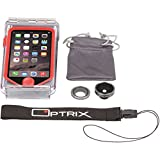 Optrix by Body Glove Waterproof Action Camera Case for iPhone SE/5/5s - Standard