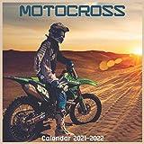 Motocross Calendar 2021-2022: Cute Wall & Office Calendar 2021-2022 Size 8.5 x 8.5 Inch,16 Month Calendar 2021-2022 For Women, Men, Kids & motocross Lovers