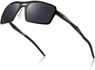 Divvsck Mens Sports Polarized Sunglasses UV Protection Aluminum Sunglasses for Men/Women