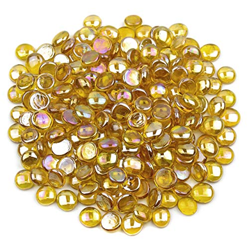Gemnique Glass Gems - Yellow Luster (48 oz.)
