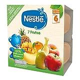 Nestlé Tarrinas de fruta 7 Frutas 4x100g - Pack de 6