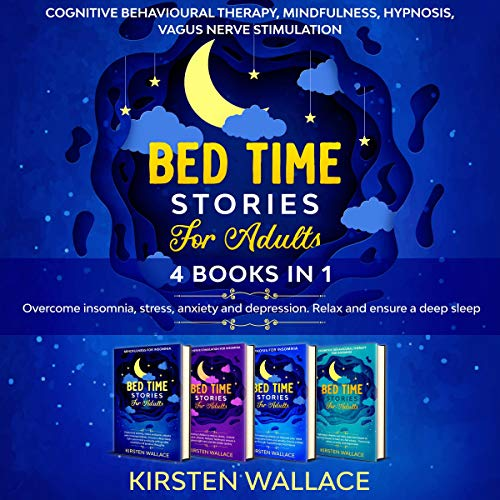 Bedtime Stories for Adults: 4 Books in 1 cover art