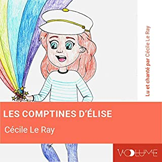 Page de couverture de Les comptines d'Élise