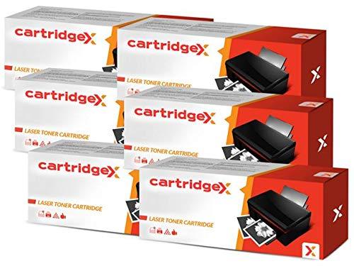 Cartridgex - Cartucho de tóner láser para HP 06A C3906A Laserjet 6L 5L Xtra 5L (6 Unidades)