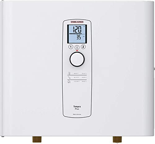 popular Stiebel wholesale Eltron discount Tankless Heater – Tempra 36 Plus – Electric, On Demand Hot Water, Eco, White online sale