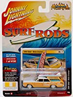Johnny Lightning 1/64 Surf Rods 1964 Oldsmobile Vista Cruiser Wagon サーフロッド オールズモビル ビスタ クルーザー ワゴン イエロー 限定 [並行輸入品]