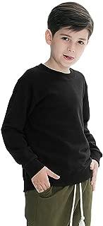 white sweatshirt boy