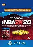 NBA 2K20 - 75,000 VC [Código de descarga PSN - Cuenta española]